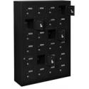 Lockers Metalico para Celulares de color Negro
