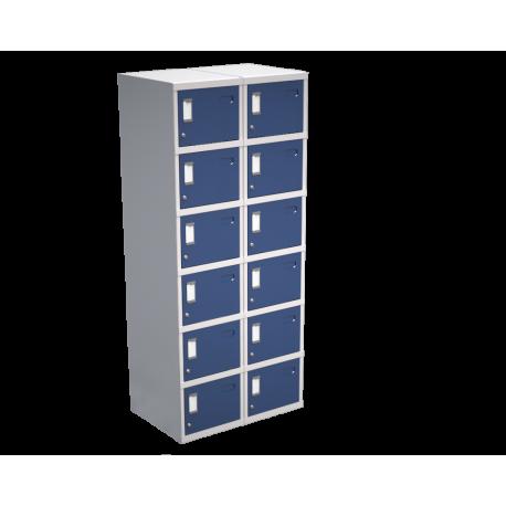 Lockers de 12 puertas